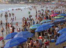 Mazatlan abarrotado sábado de Semana Santa. Pero menos afluencia que en 2019
